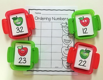 Apple Fun Math Centers