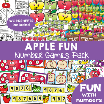 9 Math Centers / Games {Apple Fun}