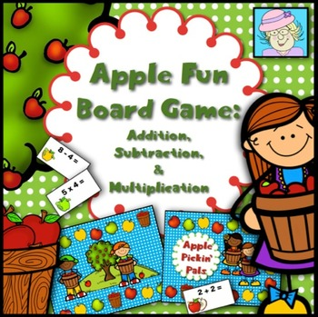 Math Game: Addition, Subtraction, and Multiplication