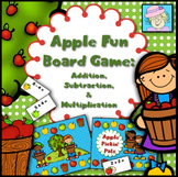 Multiplication Games Printable | Addition & Subtraction Games for 2nd 3rd 1st K