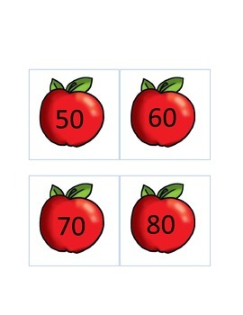 Apple Fun Skip Counting by 10's