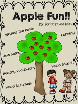 Apple Fun ~ Writing Activities