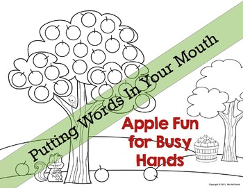 Apple Fun for Busy Hands