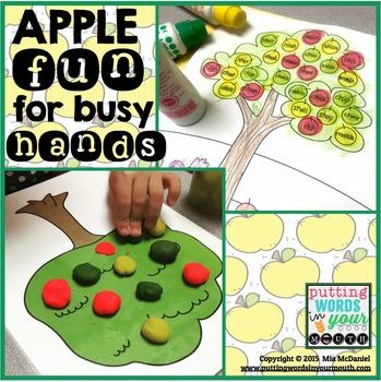 A Fall Activity for Any Skill: Apple Fun for Busy Hands