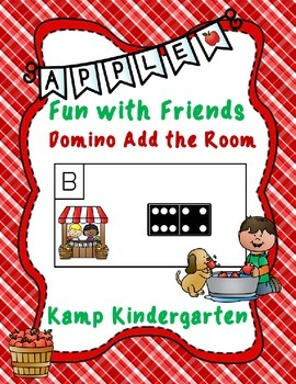 Apple Fun with Friends Domino Add the Room (Sums of 0 to 10)