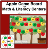 Apple Game Board-Editable! Sight Words, Shapes, ESL Vocab and more!