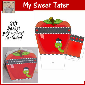 Apple Gift Basket Printable