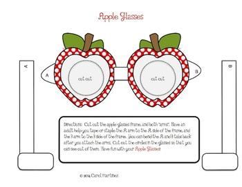 Apple Glasses {Back to School Fun!}