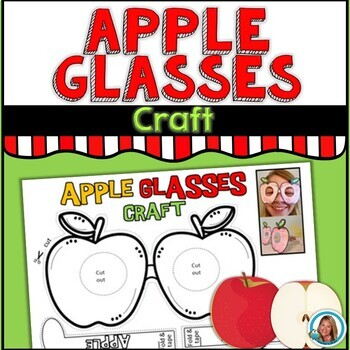 Apple Glasses Craft