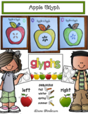 Apple Activities: Listening & Following Directions Apple Glyph
