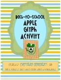 Apple Glyph Activity (Back to School Math & Language Arts Poetry)