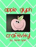 Apple Glyph Craftivity!