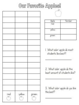 Apple Graph Craftivity!