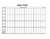 Apple Graph for Johnny Appleseed's Birthday.