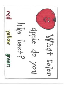 Apple Graphing Activity K-3
