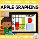 Apple Graphing - Boom Cards - Distance Learning