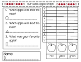 Apple Graphing Data