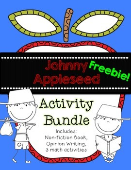 Apple Graphing Freebie {Johnny Appleseed Activity Bundle}