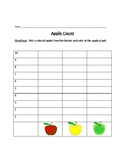 Apple Graphing and Apple Craft