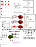 Apple Growing  counting book 1-10 and other activities