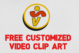 FREE CUSTOMIZED VIDEO CLIPART