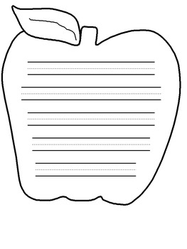 Apple Handwriting Paper