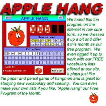 Apple Hang  Hangman Game