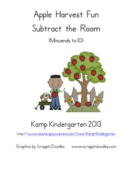 Apple Harvest Fun Subtract the Room (Minuends to 10)