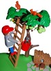 Apple Harvest - Playset Visuals [speech therapy and autism]