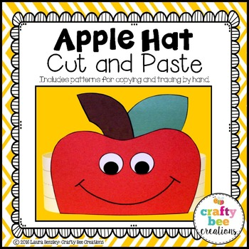 Apple Hat Cut and Paste