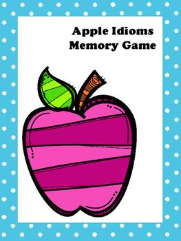 Apple Idiom Memory Game