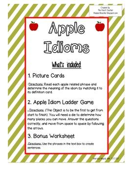 Apple Idioms
