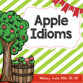 Apple Idioms/Figurative Language for Autism and Speech Therapy