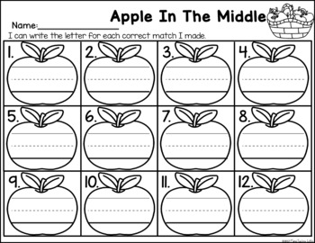Apple In The Middle - Medial Sound Identification