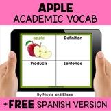 Apple Interactive Academic Vocabulary