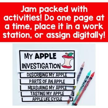 Apple Investigation Flip Up Book