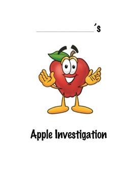 Apple Investigation ~ A Mini Science Unit