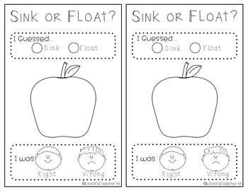 Apple Investigation Booklet {(*Print & Go Science & Math*)}