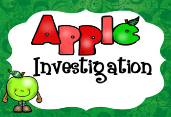 Apple Investigation booklet, color and B&W