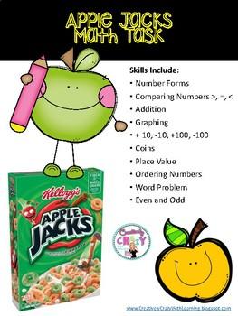 Apple Jacks Math Task