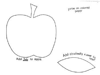 Apple Job Chart