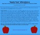 Apple, Johnny Appleseed, & Back to School Themed SMART Boa
