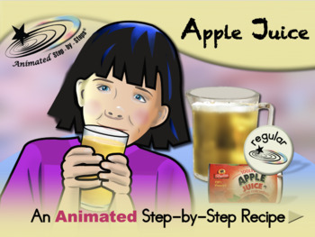 Apple Juice - Animated Step-by-Step Recipe