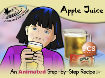 Apple Juice - Animated Step-by-Step Recipe - PCS