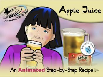Apple Juice - Animated Step-by-Step Recipe SymbolStix