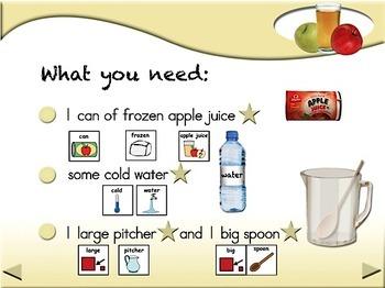 Apple Juice - Animated Step-by-Step Recipe - SymbolStix
