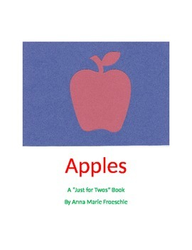 "Apple ""Just For Twos"" Book"