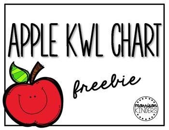 Apple KWL Chart (FREEBIE)