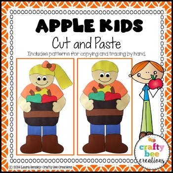 Apple Kids Cut and Paste