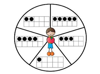Apple Kids Math Wheel